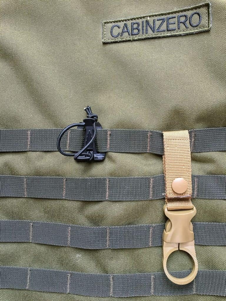 Military webbing for accessories