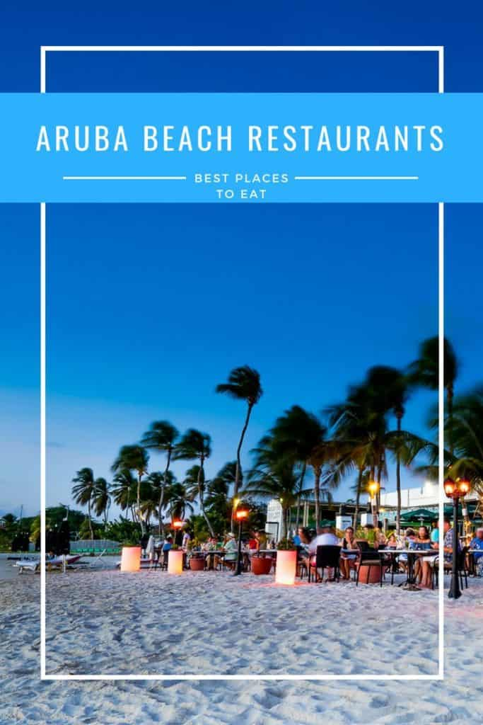 Aruba restaurants come in all shapes and sizes and there's a perfect place to eat for everyone. You can go barefoot and have dinner with your feet in the sand somewhere on the beach one night and dress up and go for a more fine dining experience at an authentic Aruban Cunucu House the next.